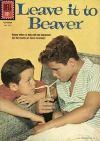 LEAVE IT TO BEAVER - DELL COMIC , 1961 - JERRY MATHERS & TONY DOW
