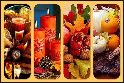 Fall Centerpieces - Boards!
