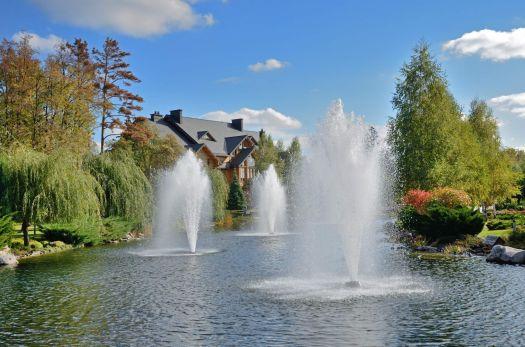 mezhygirya fountains