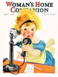 Themes Vintage illustrations/pictures - Woman´s  Home Companion Magazine Cover 1923-04
