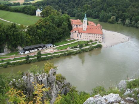 Lower bavaria - Weltenburg Abbey