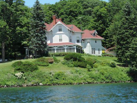 Summer Homes Along the Lake #7