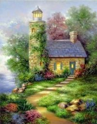 Lighthouse and cottage!