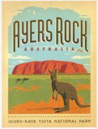 Australia - Ayers Rock (Uluru)