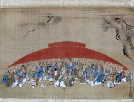 Shōjō Under a Sake Cup, Tsukioka Settei