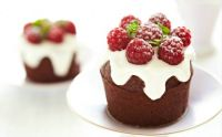 Mini Raspberry Bundt