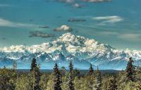Mt. Denali as seen from Talkeetna Alaska