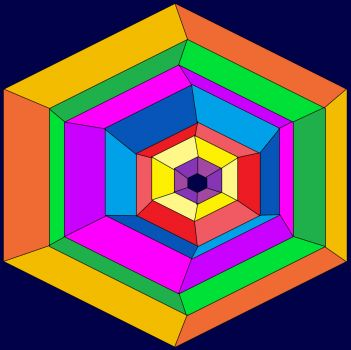 Hexagons Inside