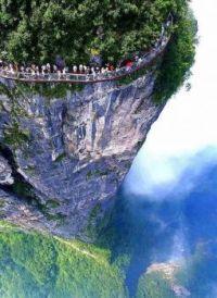4600 Feet High Glass Walkway in China