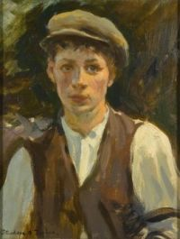 Stanhope Alexander Forbes (British, 1857–1947), Study of a Young Man