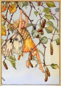 The Silver Birch Fairy (smaller size)