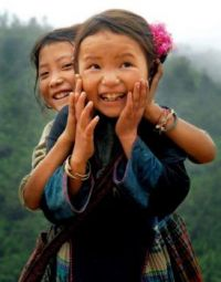 4 ~ 'Kids around the world' ~ Feeling jolly!  :-)) ~ (VIETNAM)