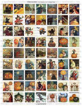 Themes Halloween vintage 2