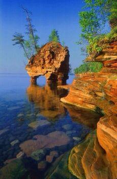 Apostle Islands in Wisconsin