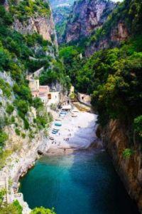 Prainha em Furore, Amalfi, Itália !!!
