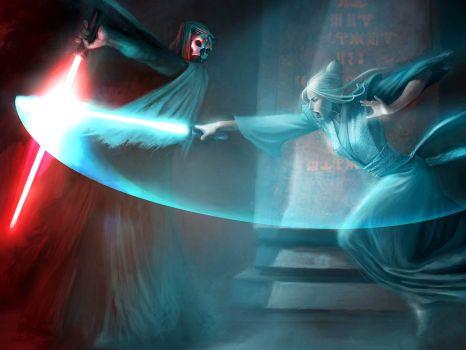 Star Wars: Atris Vs. darth Nihilus