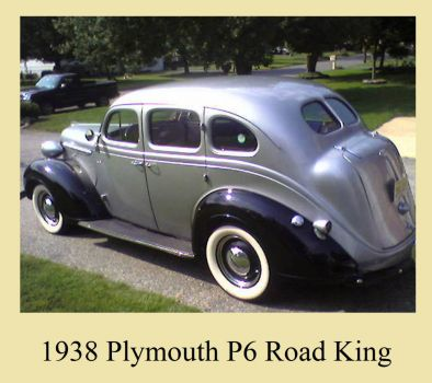 1938 Plymouth P6 Road King