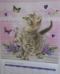 Calendar kitty August 2020
