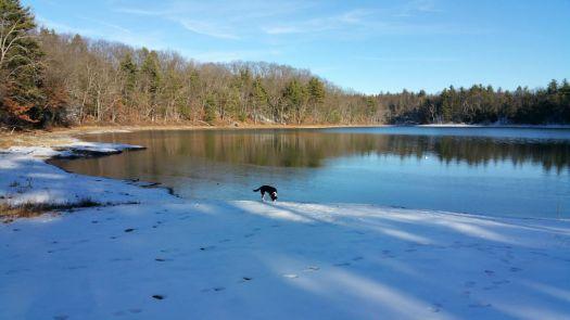 Sam at Mirror Lake