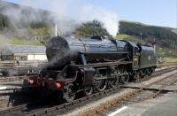 44806 at Carrog Station