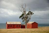 New Zealand's oldest surviving farm buildings at Matanaka (Andrew McMillan)