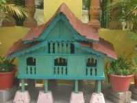 Another miniature Malaccan house
