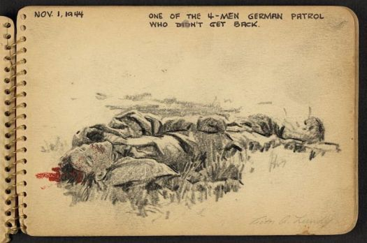 Sketchbook Diary of a WWII Soldier – 12
