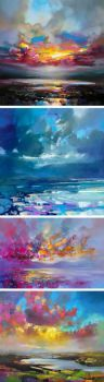 Vibrant Oil Paintings of Scottish Landscapes