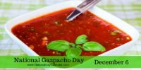 Today Is National Gazpacho Day!!