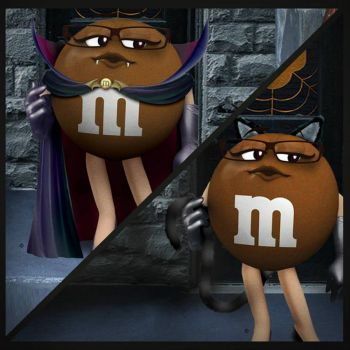 brown mm halloween