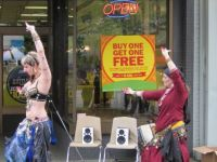 Street Faire Belly Dancers