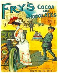 Vintage ad - Frys Cocoa And Chocolates