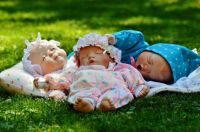 Sleeping Newborn Baby Dolls