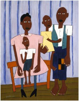 Family Portrait ~ William H. Johnson