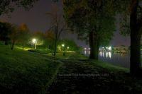 Grand Haven, Michigan at night