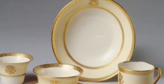 Which US President used this china?