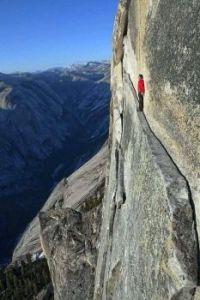 The Thank God Ledge in Yosemite National Park