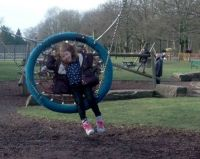 Sienna on the big swing