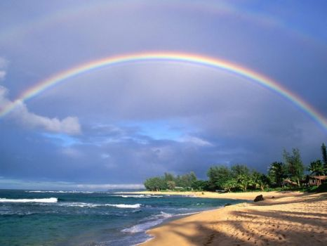 Kauai Hawaii Rainbow