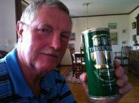 Farsan med öl