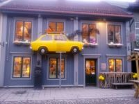 House with a car - Lillehammer