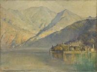 Lake Como 1922 Tom Roberts