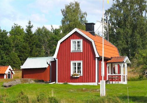 Little red house, Sweden