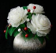 Beautiful Stocking Net Flowers