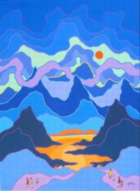 Ted Harrison: Wilderness Wanderers