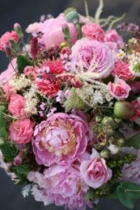 Happiness is......A Beautiful Bouquet in Shades of Pink.