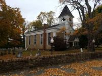 Country Church in Fall