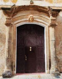 old entrance Palacio Torresaura