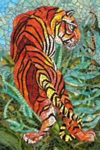 Indian Tiger, Anne Bedel