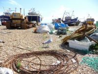 Old Town Hastings fishing boats 2